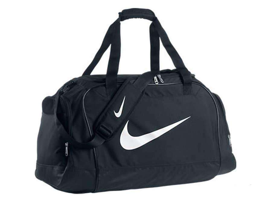 171cb4a6ab Nike Bag Club Team Medium Duffel Personal equipment bag Black White Soccer Football  Gym Basketball Tennis Duffle Bags NEW BA3251-067