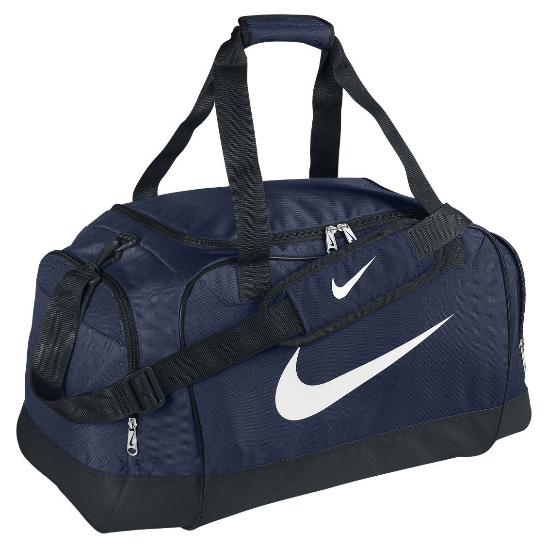 46fbf52c58 Nike Bag Club Team Medium Duffel Personal equipment bag Navy White Soccer Football  Gym Basketball Tennis Duffle Bags NEW BA3251-472